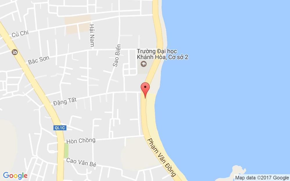 Vị trí bản đồ 01 Bãi Dương, Phạm Văn Đồng Tp. Nha Trang Khánh Hoà