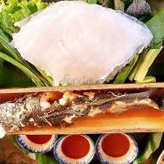 Cá nướng ống tre
