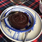 Bánh đậu đỏ nhân dừa để nhâm nhi khi uống trà