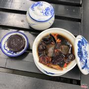 Combo Trà La Hán ăn kèm bánh đậu đỏ vote ngàn sao, cực kỳ hợp khẩu vị