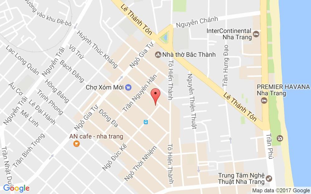 Vị trí bản đồ 82 Huỳnh Thúc Kháng, P. Phước Tiến Tp. Nha Trang Khánh Hoà