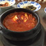 Canh kim chi cá