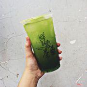 Trà xanh kiwi thạch trà xanh