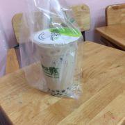 Trà sữa lúa mạch trân châu lớn size M