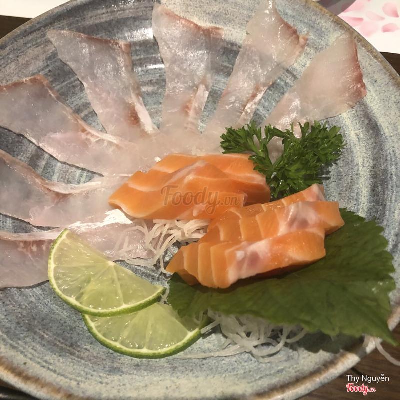 Sashini cá trắng cá hồi