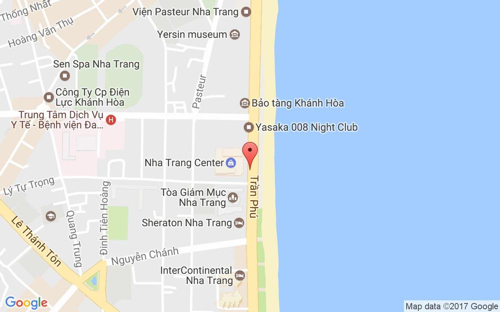 Vị trí bản đồ 20 Trần Phú, P. Lộc Thọ Tp. Nha Trang Khánh Hoà