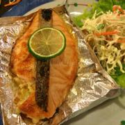 Cá hồi nướng khoai Tây 252.000 đ