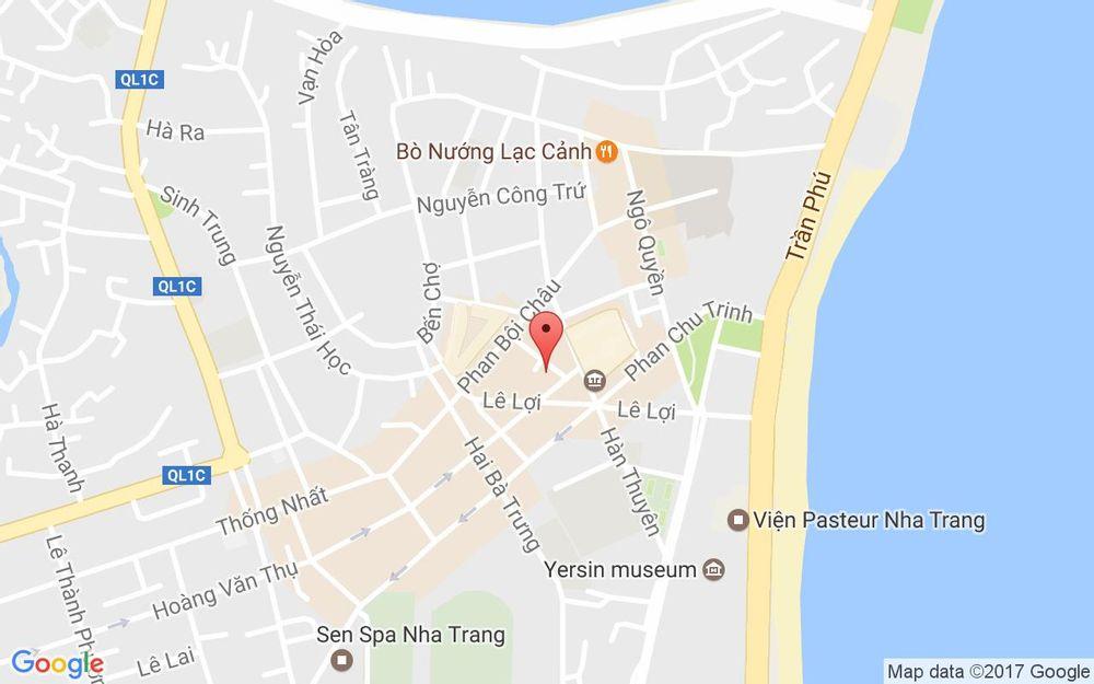Vị trí bản đồ 16B Lãn Ông, P. Hương Xuân Tp. Nha Trang Khánh Hoà