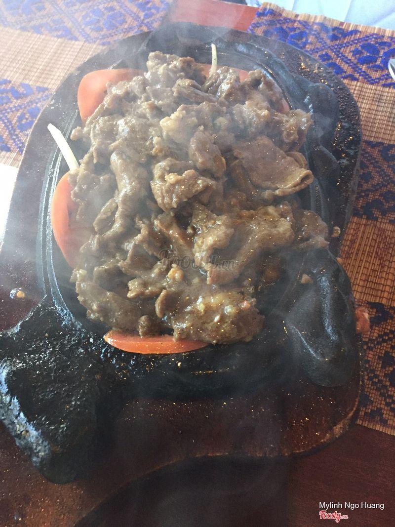 Venison -- tasted like beef