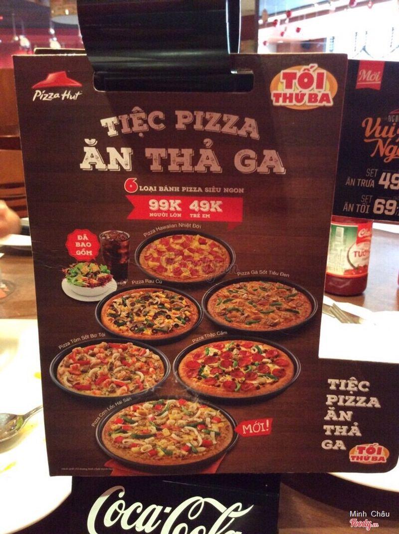 Pizza các loại