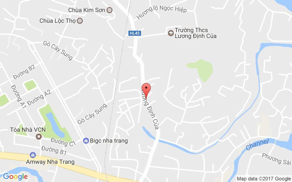 Vị trí bản đồ 95 Hương Lộ Ngọc Hiệp Tp. Nha Trang Khánh Hoà