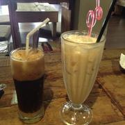 cà phê & lipton sữa