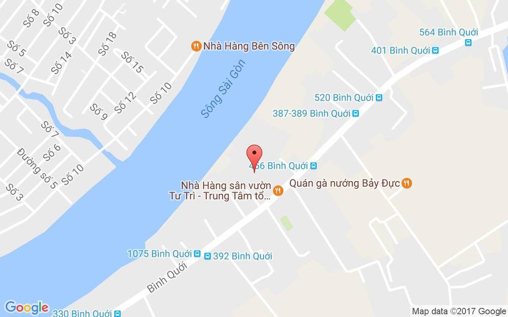Vị trí bản đồ 312 Bình Quới, P. 26 Quận Bình Thạnh TP. HCM