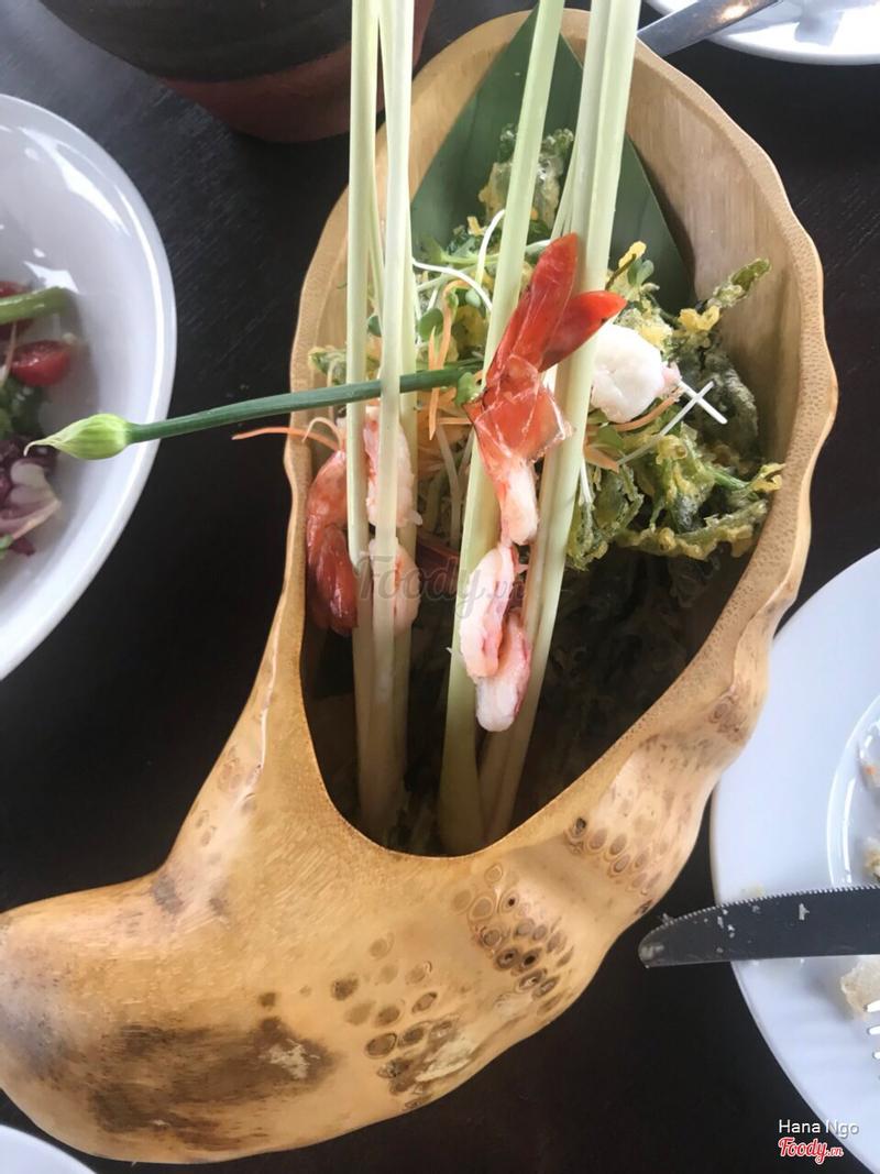 The gourmet salad - rau muống chiên ăn cực ưng miệng
