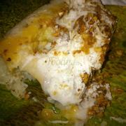 Xôi cá dé ngập tràn cốt dừa và cơm dừa béo ngậy (10k)