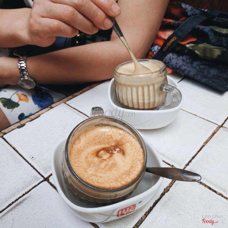Cafe trứng nóng