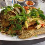 Cá tai tượng sốt chua ngọt
