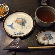 Set-Up~ w/ Vegetable Tempura & Free Tea