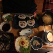 Mì soba- sushi 129k