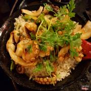 cơm chiên bạch tuộc