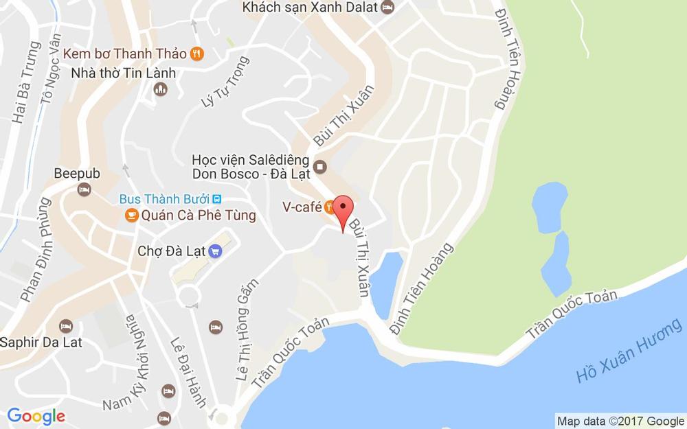 Vị trí bản đồ Mường Thanh Đà Lạt Hotel - Phan Bội Châu ở Lâm Đồng