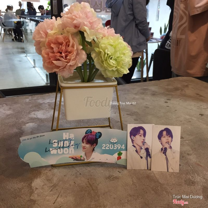 Cup Holder & Cards  Ha Sung Woon - Wanna One