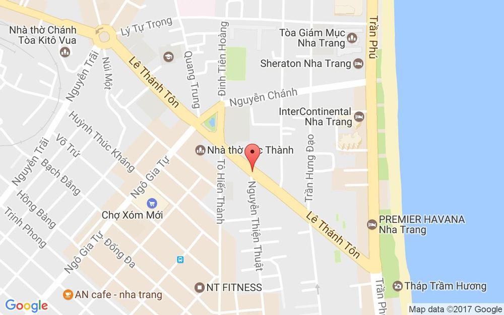 Vị trí bản đồ 24 Lê Thánh Tôn Tp. Nha Trang Khánh Hoà