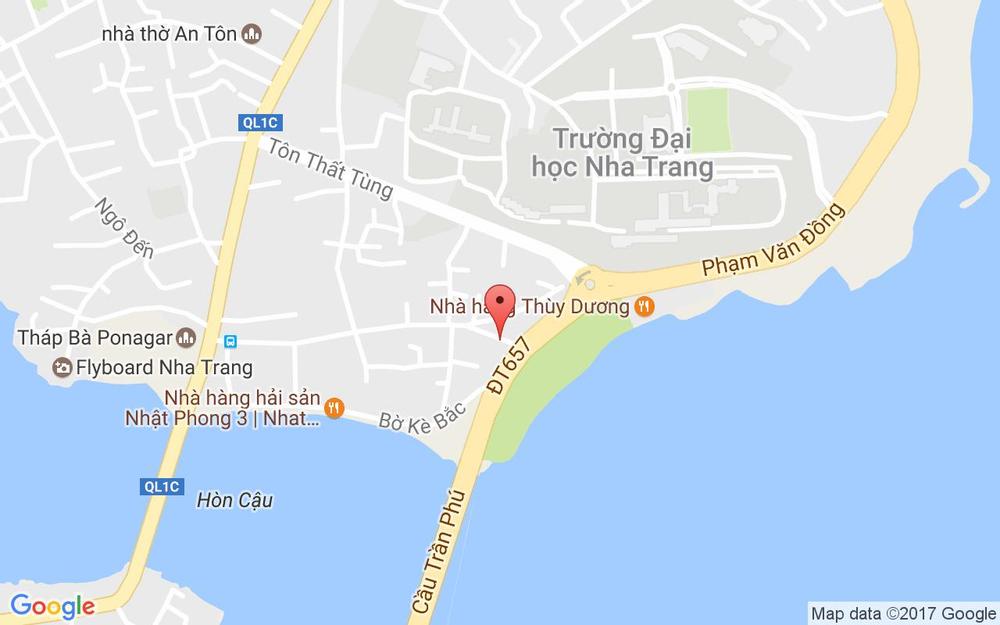 Vị trí bản đồ 18KA Tháp Bà, P. Vĩnh Thọ Tp. Nha Trang Khánh Hoà