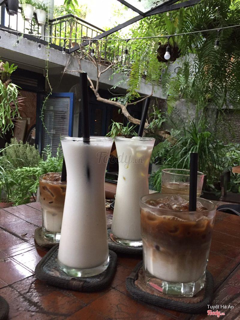 Cafe sữa, sinh tố dừa, sữa tươi