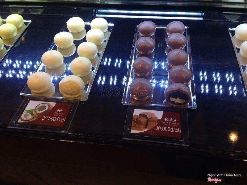 Dừa , socola