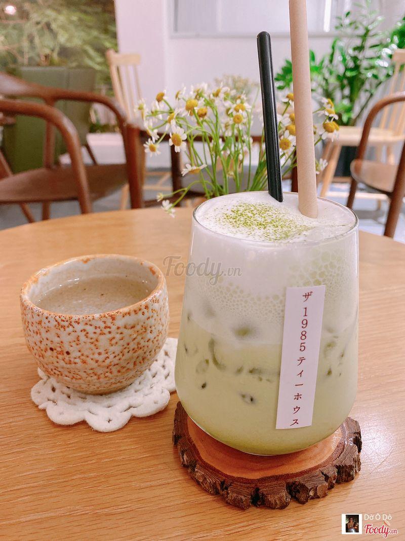 Matcha latte đá, thời còn chưa uống hết toàn bộ menu