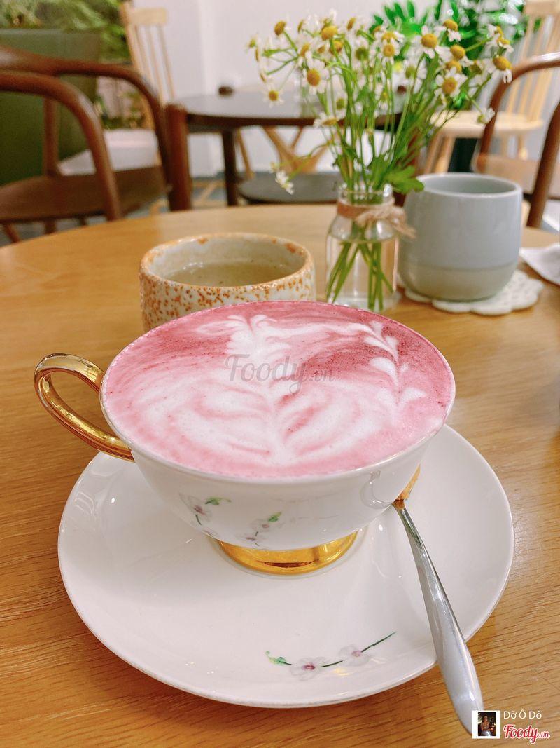 Sakura latte, cũng ngon lắm cả nhà