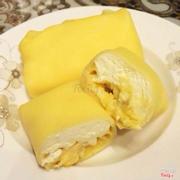 Kem cuộn sầu riêng