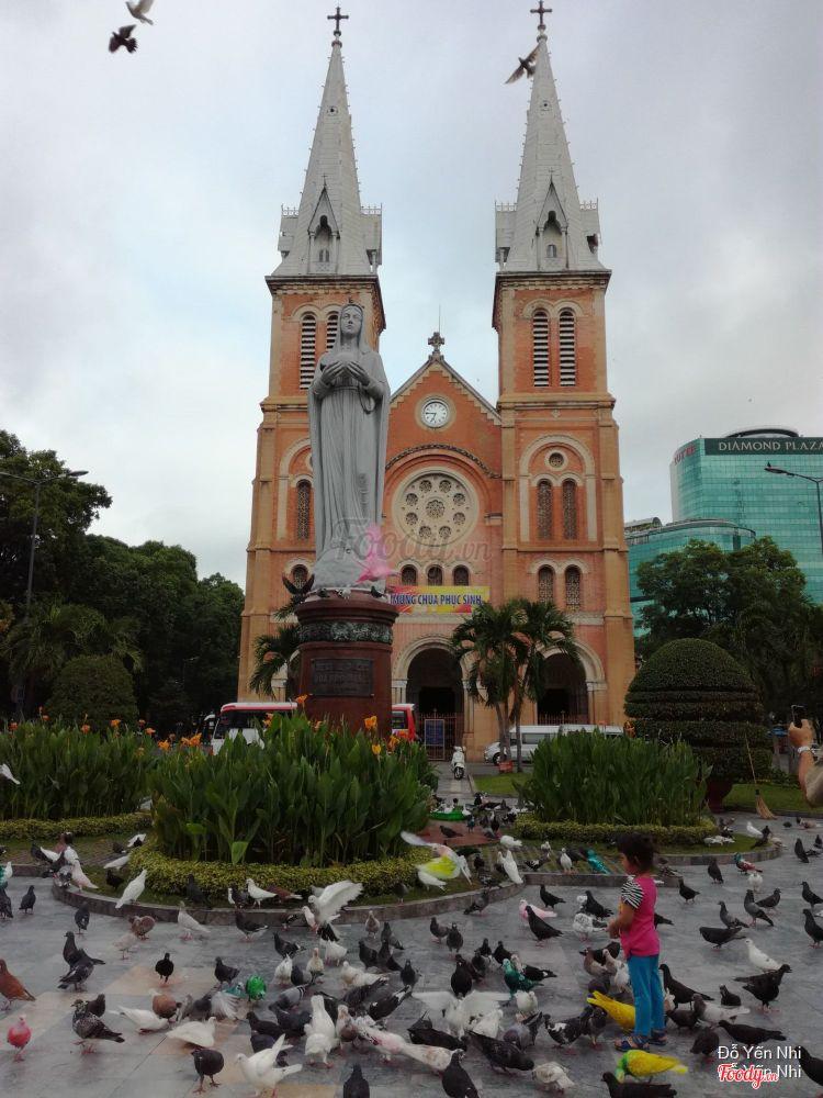 Nhà Thờ Đức Bà - Saigon Notre - Dame Basilica ở TP. HCM