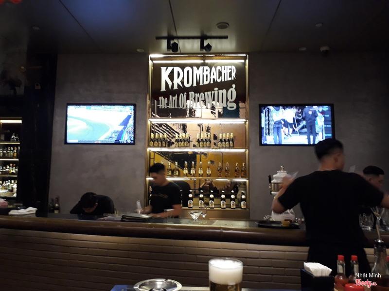 Bartender area