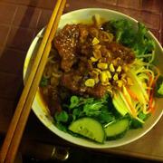 Bún thịt nướng 30k, ăn rất ngon !
