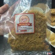 bao bì cơm cháy Gạo