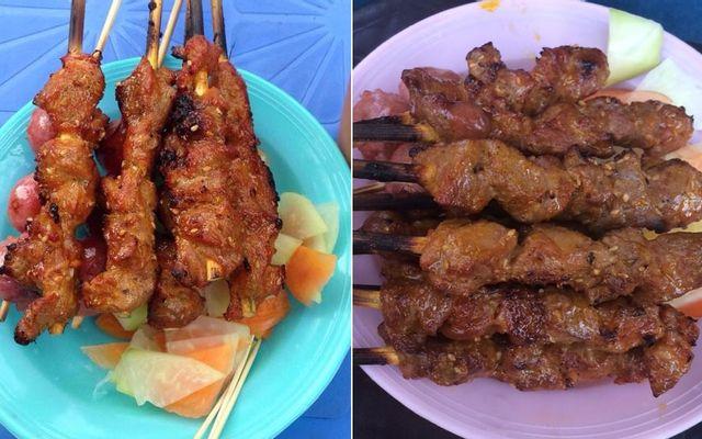 Thịt Heo Xiên Nướng Hà Nội