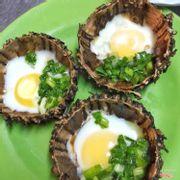 Nhum nướng trứng mỡ hành