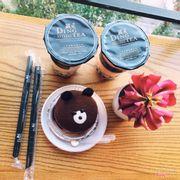 Ding tea Đào Tấn 😍Bánh gấu siu ngon, uống với trà thì quá tuyệt rồi hihi. Bản thân dở người k ăn được cái lớp socola bên ngoài ... 😪😪😪😪