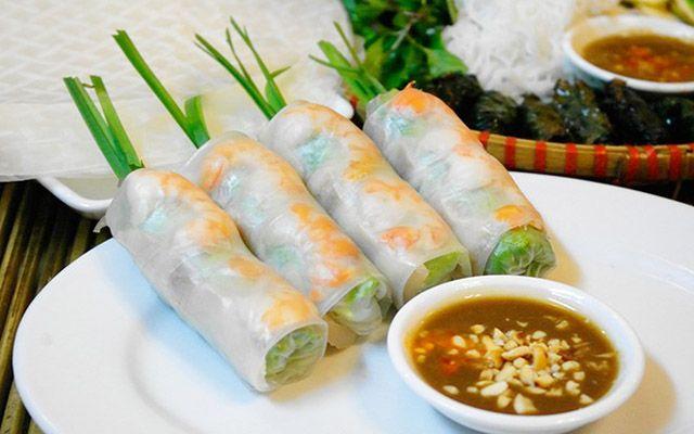 Gỏi Cuốn, Bì Cuốn, Bò Bía - Trần Văn Đang
