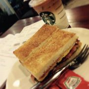 Just #sandwiches and #macchiato at #starbucks
