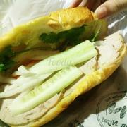 Bánh mì bò 23k