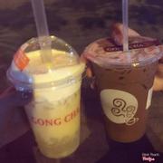 Sau khi uống nhiều chi nhánh thấy Gongcha HTM là ngon nhất. Trà Alisa là bét saler rồi giờ mới uống thử trà sữa socola vị đắng đắng nguyên chất 👍👍