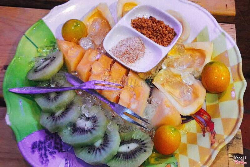 trái cây dầm