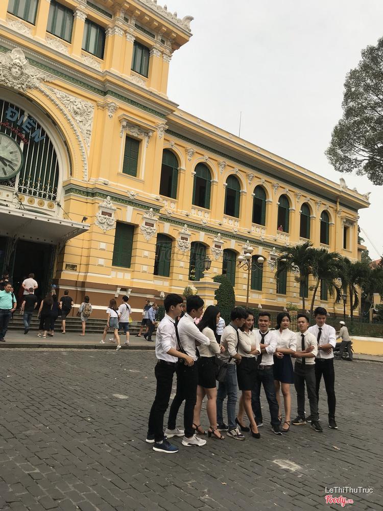 Bưu Điện Thành Phố Hồ Chí Minh ở TP. HCM