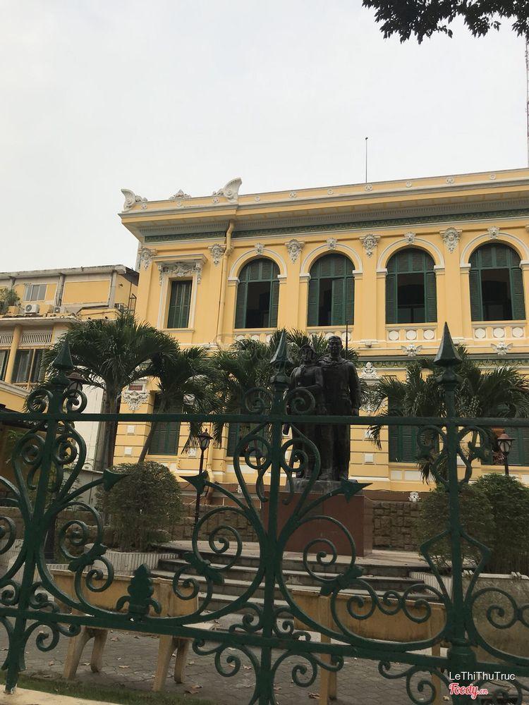Bưu điện thành phố trở thành biểu tượng đặc trưng của saigon
