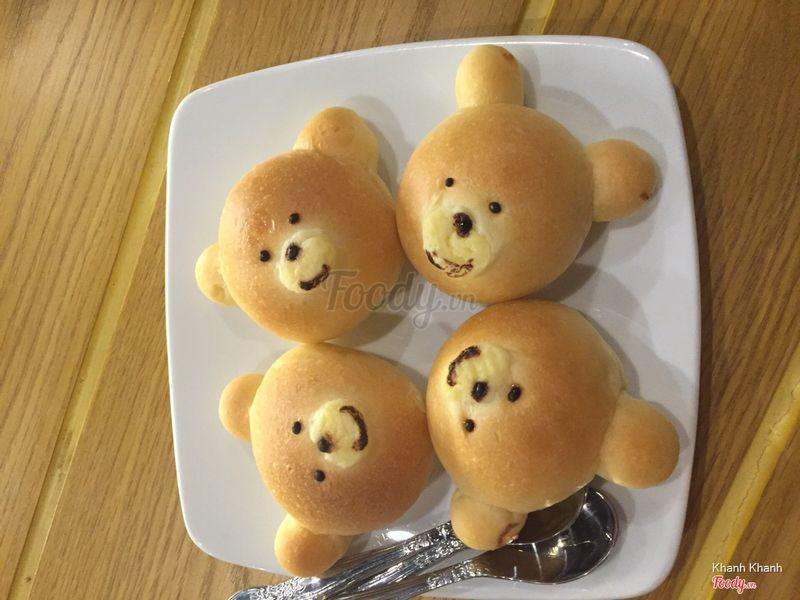 Combo 4 bánh gấu