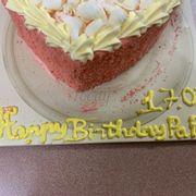 1 tiệm bánh lớn mà bắt chữ lên bánh còn thua mình nữa, đem về mở hộp ra tá hoả, ko dám chụp up fb khoe lun