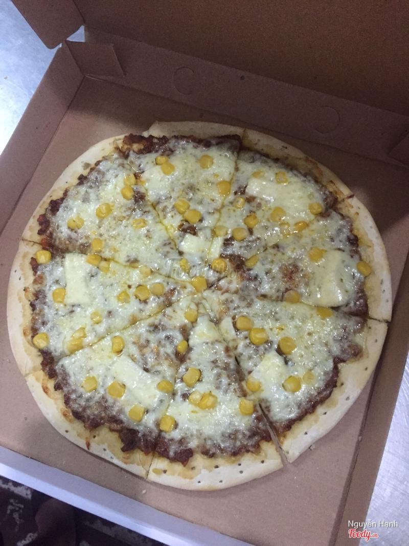 pizza bò băm